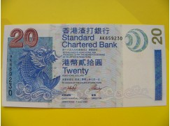 bankovka 20 dolarů - série AK