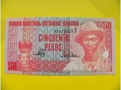 bankovka 50 pesos - série AA