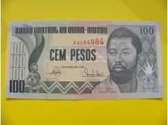 bankovka 100 pesos - série BA