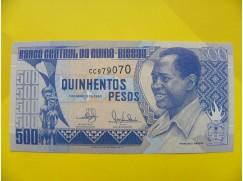 bankovka 500 pesos - série CC