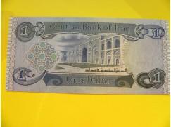 bankovka 1 dinár