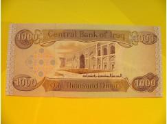bankovka 1000 dinárů
