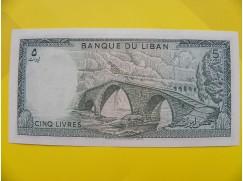 bankovka 5 liber