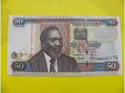bankovka 50 šilinků série BW