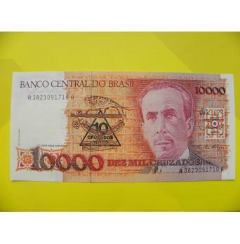 bankovka 10 000 Cruzados - série A
