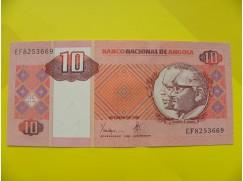 bankovka 10 Kwanzas - série EF